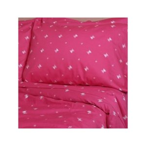 Pink Skull and Crossbones Bedding