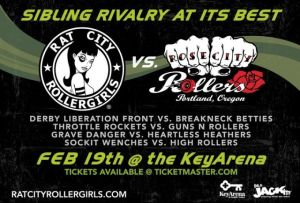 Rat City Roller Girls vs Rose City Rollers