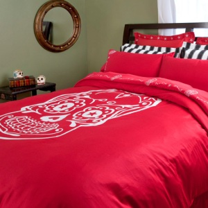Sugar Skull Duvet Cover