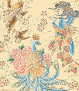 Tattoo Geisha Print